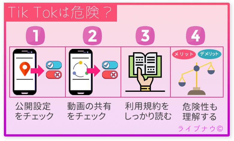 TikTokを安全に利用するための方法