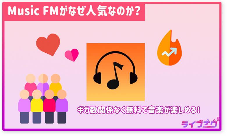 Music FM 人気