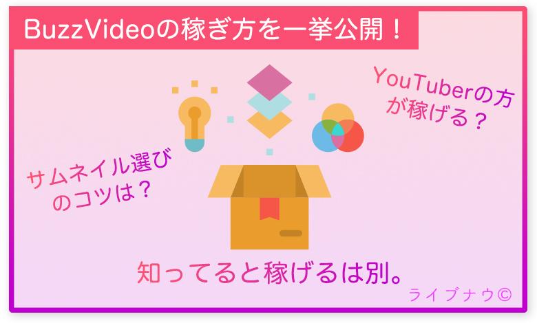 バズビデオ BuzzVideo 稼ぎ方 サムネイル
