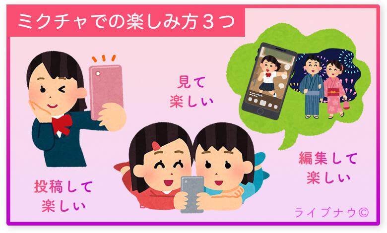 ミクチャ mixchannel LOVE カップル アプリ