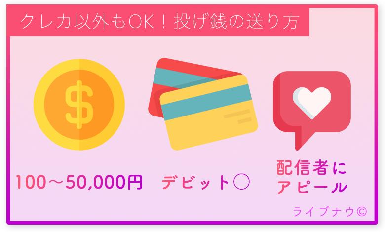 YouTube SuperChat 配信者 視聴者 デビットカード 稼ぐ 投げ銭